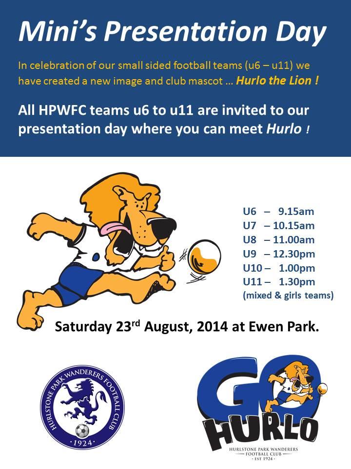 Hurlo Presentation Day flyer 2014